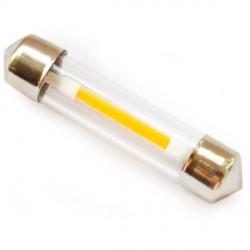 Ampoule navette C5W filament LED longueur de 31 mm