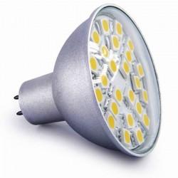 Ampoule 24 leds SMD MR16