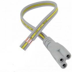 Câble d'alimentation pour réglette Lidéa-LED longueur 15cm