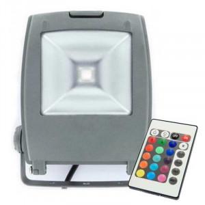 Projecteur LED ultra compact RGB 30 Watts + télécommande IR