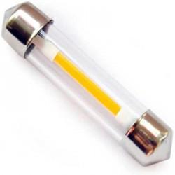 Ampoule navette C5W filament LED longueur de 39 mm
