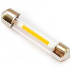 Ampoule navette C5W filament LED longueur de 36 mm