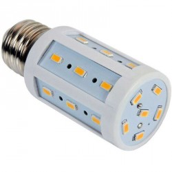 Lampe Spectra color 24 LED SMD 5630 culot E27 - 230 Volts 4 Watts