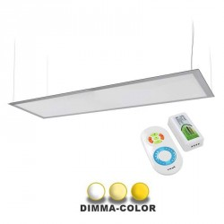 Panneau DIMMA-COLOR suspendu ultra plat 45W 300x1200mm