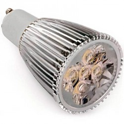 Ampoule led 5 X 1 watts High power DIMMA-LED GU10