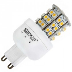 Ampoule 48 LED SMD DIMMA LED 230 volts culot G9