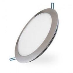 Panneau lumineux LEDs encastré ultra plat 12W diamètre 180mm