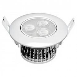 Downlight LEDs 3 watts encastré orientable