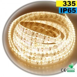 Strip Led latérale blanc chaud LEDs-335 IP65 120leds/m sur mesure