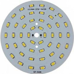 Platine 48 LEDS 5730 de 24 Watts Ø112mm