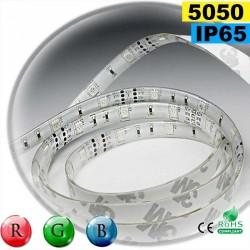 Strip 30 LEDs RVB rouleau flexible autocollant de 5m