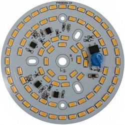 Platine AC LED 30 watts à alimentation transistorisé 230V - 80 LED 5730 - Ø 107mm