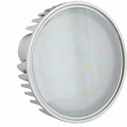 Ampoule 6 watts GX53 - 12 LEDs Epistar spectra color