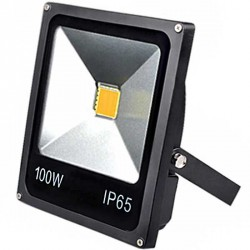 Projecteur Thin LED Mode Noir 100 watts