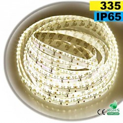 Strip Led latérale blanc chaud léger LEDs-335 IP65 120leds/m 5m