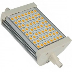 Ampoule R7s 10 watts dimmable 60 LED SMD 5050 longeur 118mm