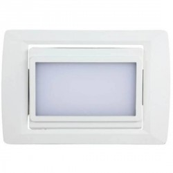Downlight encastré orientable rectangulaire 105 LEDs SMD type 3528
