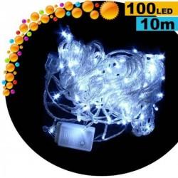 Guirlande lumineuse LED blanche - 10 mètres