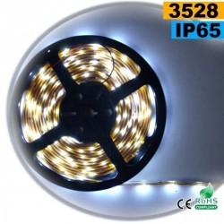 Strip LED blanc SMD 3528 IP65 30LED/m 1m