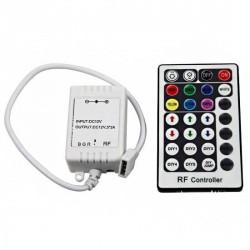 Contrôleur 12V RGB 4A par couleur Télécommande 28 touches RF