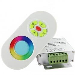 Contrôleur RGB Télécommande tactile RF
