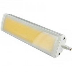Ampoule R7s 20 watts compact LED COB 20 watts 189mm avec diffuseur milk
