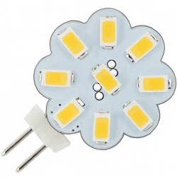 Ampoule flower 9 LED SMD 5730 culot G4