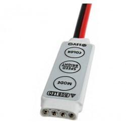 Contrôleur ruban LED RGB filaire 3 touches