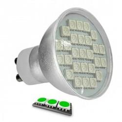 Ampoule LED 27 SMD TYPE 5050 VERT GU10