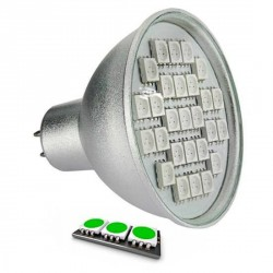 Ampoule LED 27 SMD TYPE 5050 VERT MR16
