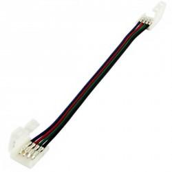 Câble 4 connecteurs broches pour raccordement Strips LEDs RGB ou DREAM-COLOR