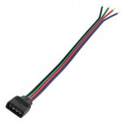 Prise RGB femelle avec cable