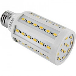 Lampe Spectra color 60 LEDs SMD 5630 Culot E27 230 Volts - 12 Watts dimmable