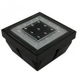 Dalle solaire à LED 97x97mm