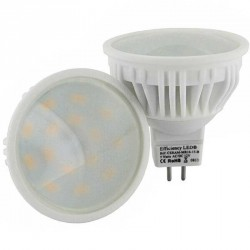 Ampoule LED MR16 GU5.3 CERAM LED - 5 watts 5630 spectra color