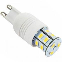 Ampoule à culot G9 - 230 volts 15 LED SMD type 5730