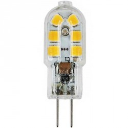 Ampoule culot G4 Tube 12 LED SMD 2835 - tension 230 volts