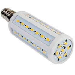 Ampoule LED maïs E14 AC / DC 10 à 60 Volts 12V 24V 36V 48V 60V 7 Watts