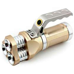 Torche triple LED CREE XM-L T6