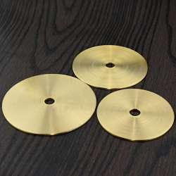 Rondelle laiton plate épaisseur 2mm diamètre 20 a 90mm