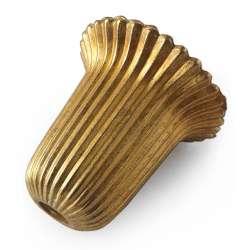 Bobèche - douille coupelle en laiton Ø 30mm