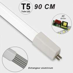 Tube LED T5 72 LED SMD 2835 longueur 900 mm