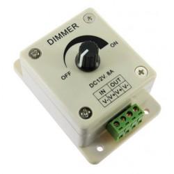 Variateur d'intensité rotatif pour ampoule DIMMA LED 12V